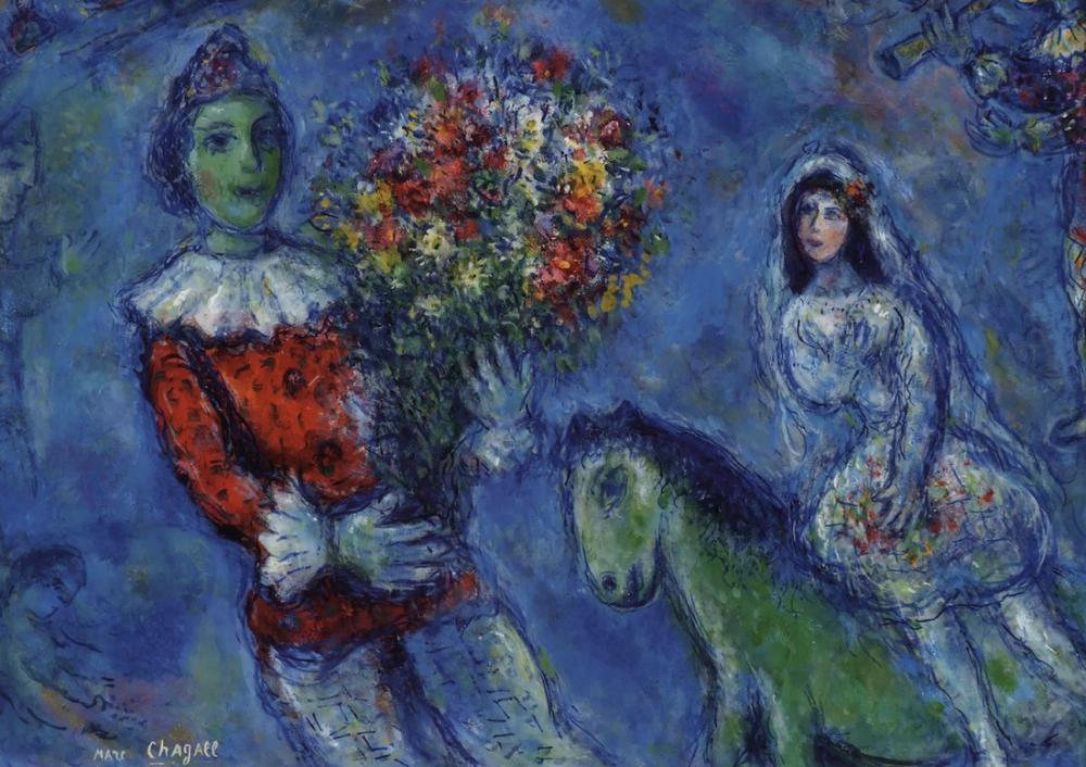 Marc Chagall Ekran Görüntüsü, Figür, Marc Chagall, kanvas tablo, canvas print sales