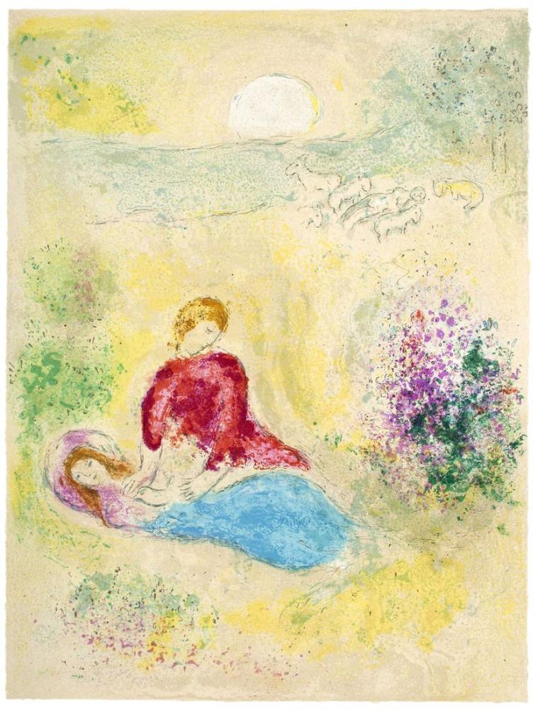 Marc Chagall Kuş Kovalamak, Figür, Marc Chagall, kanvas tablo, canvas print sales
