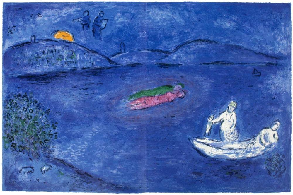 Marc Chagall Eko, Figür, Marc Chagall, kanvas tablo, canvas print sales