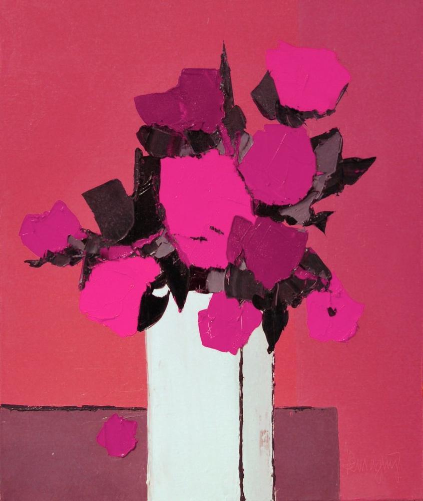 Marcel Demagny Fleurs Odorantes Purple, Canvas, Marcel Demagny