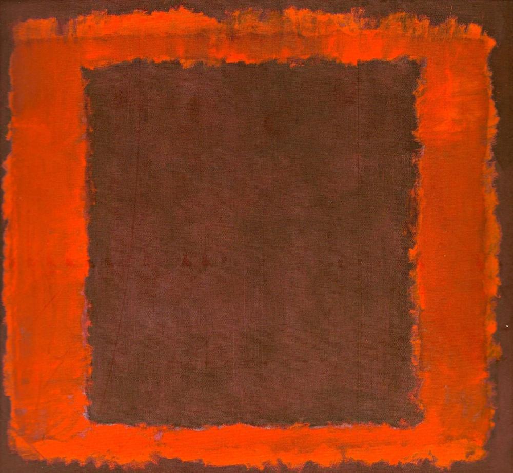 Mark Rothko Duvarın Sonu İçin Başlıksız Duvar, Kanvas Tablo, Mark Rothko, kanvas tablo, canvas print sales