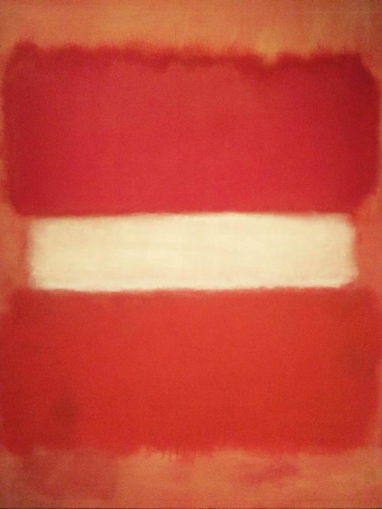 Mark Rothko Sarı Turuncu, Kanvas Tablo, Mark Rothko, kanvas tablo, canvas print sales