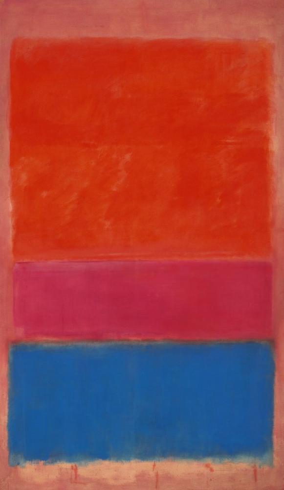 Mark Rothko Kraliyet Kırmızı Ve Mavi, Kanvas Tablo, Mark Rothko, kanvas tablo, canvas print sales