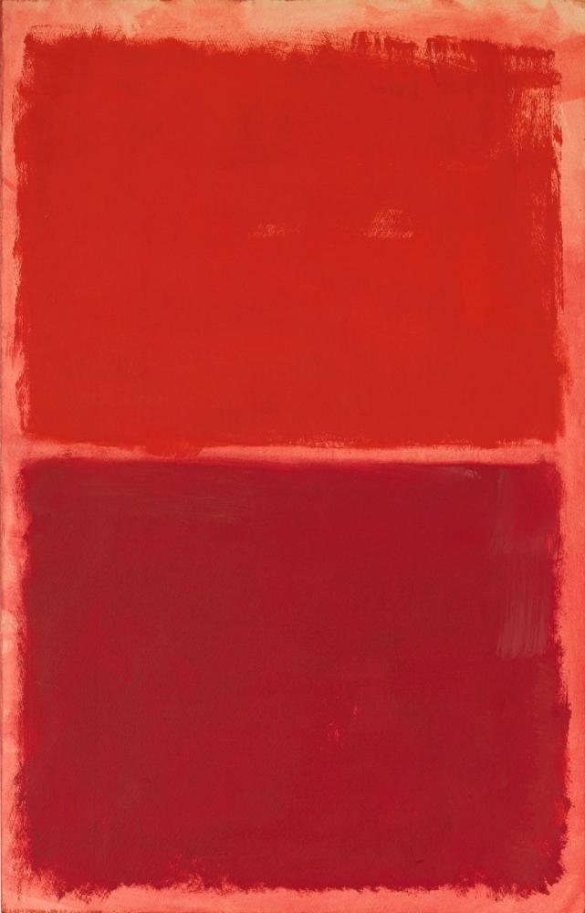 Mark Rothko Red On Red, Canvas, Mark Rothko, kanvas tablo, canvas print sales