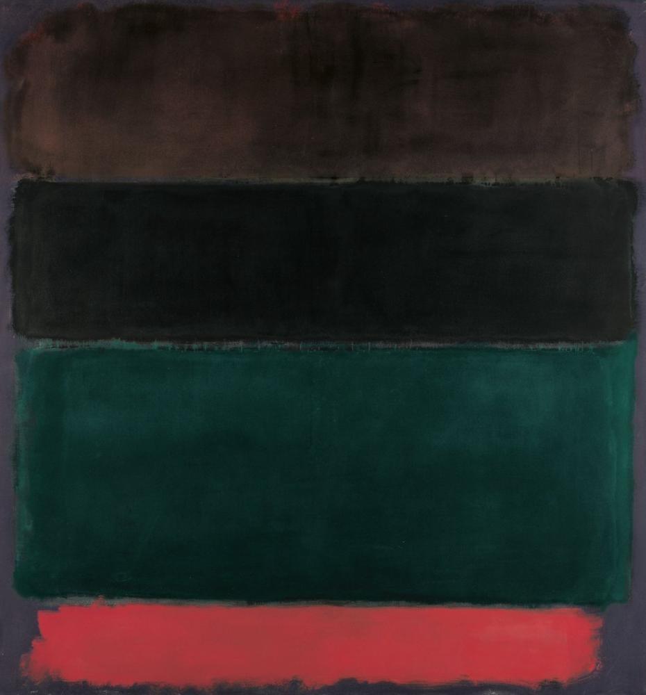 Mark Rothko Kırmızı Kahverengi Siyah Yeşil Kırmızı, Kanvas Tablo, Mark Rothko, kanvas tablo, canvas print sales