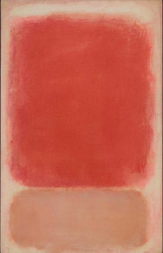 Mark Rothko Pembe Üzerinde Kırmızı Ve Pembe, Kanvas Tablo, Mark Rothko, kanvas tablo, canvas print sales