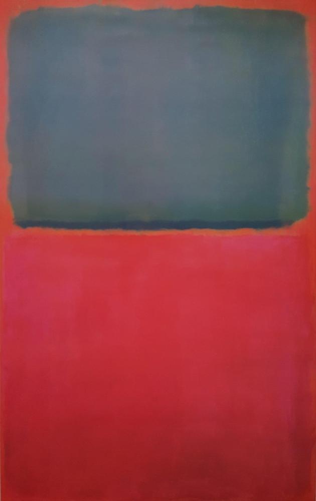 Mark Rothko Red And Gray, Canvas, Mark Rothko, kanvas tablo, canvas print sales