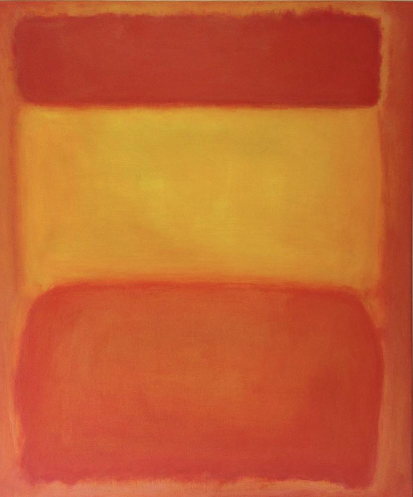Mark Rothko Orange Red And Yellow, Canvas, Mark Rothko, kanvas tablo, canvas print sales