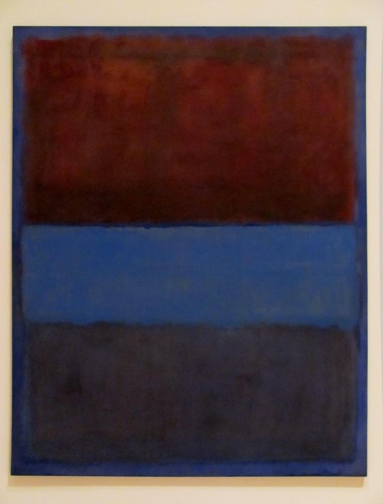Mark Rothko No 61 Pas Ve Mavi, Kanvas Tablo, Mark Rothko, kanvas tablo, canvas print sales