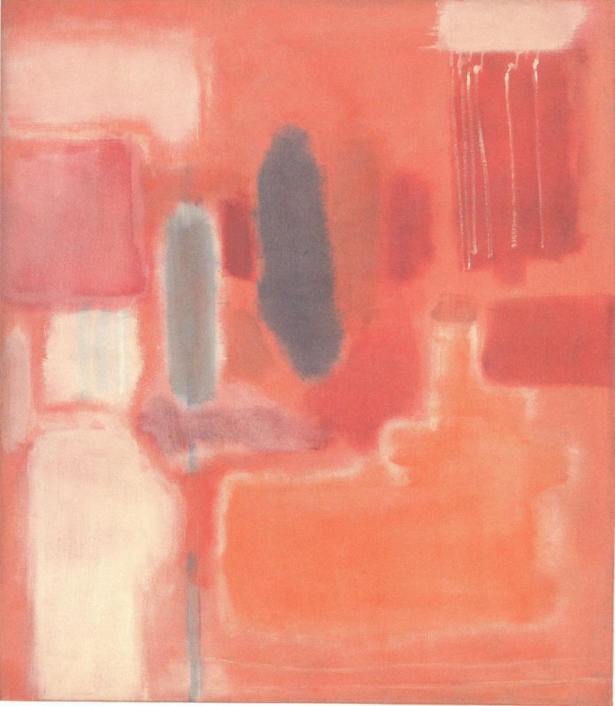Mark Rothko No 9 P 124, Kanvas Tablo, Mark Rothko, kanvas tablo, canvas print sales
