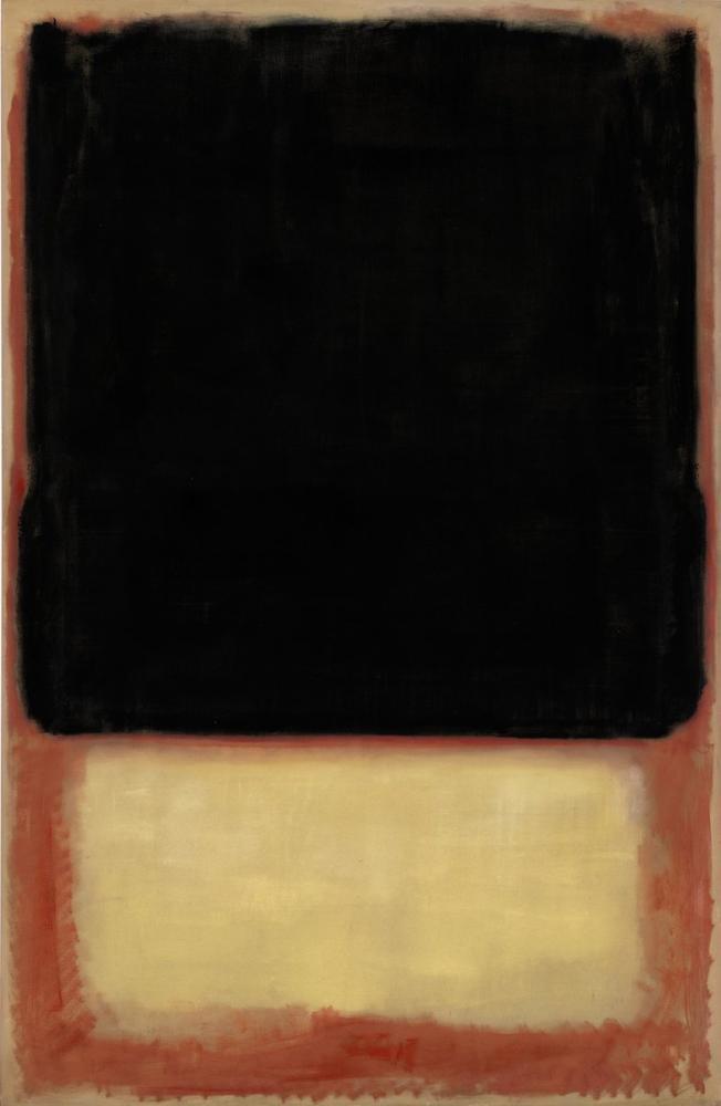 Mark Rothko No 7, Canvas, Mark Rothko, kanvas tablo, canvas print sales