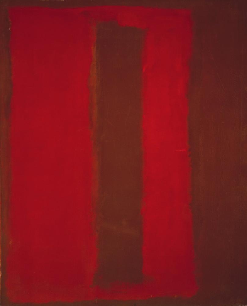 Mark Rothko Untitled Segram Mural Sketch, Canvas, Mark Rothko, kanvas tablo, canvas print sales