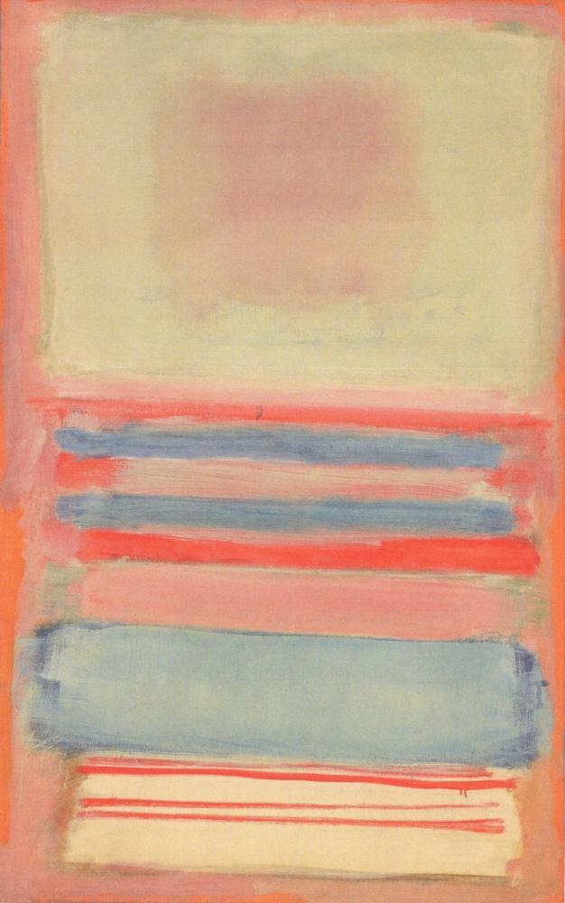 Mark Rothko no 7 p 127, Kanvas Tablo, Mark Rothko, kanvas tablo, canvas print sales