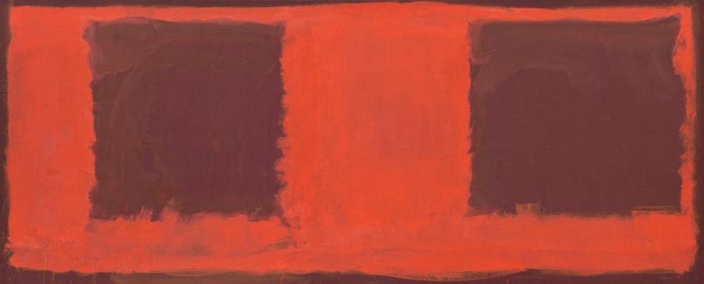 Mark Rothko Untitled Seagram Mural, Canvas, Mark Rothko, kanvas tablo, canvas print sales