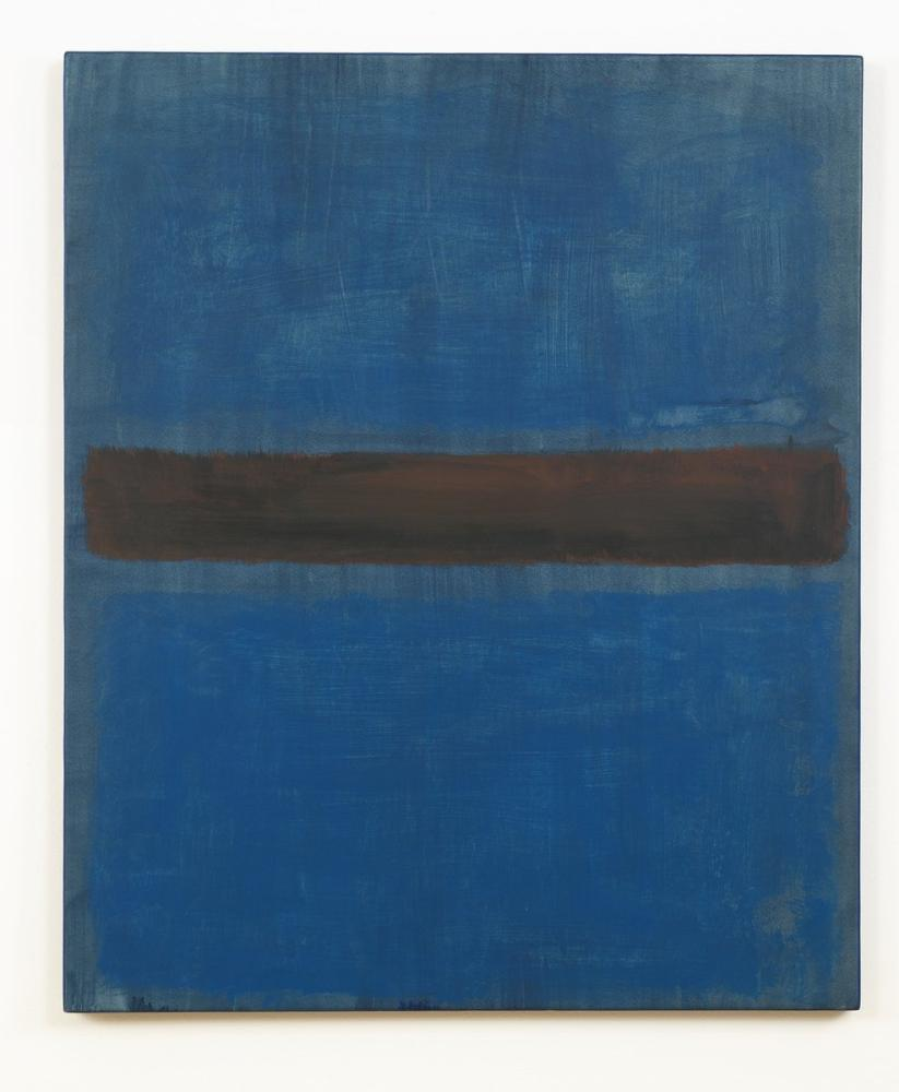 Mark Rothko Mavi Ve Siyah, Kanvas Tablo, Mark Rothko, kanvas tablo, canvas print sales