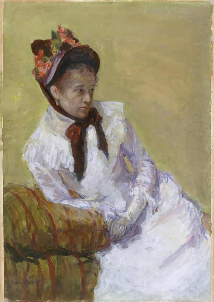 Mary Cassatt, Sanatçının Portresi, Kanvas Tablo, Mary Cassatt, kanvas tablo, canvas print sales