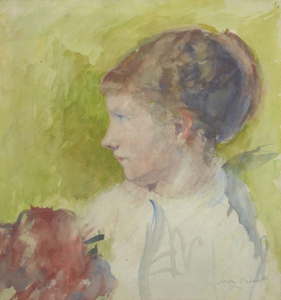 Mary Cassatt, Lydia Profili, Kanvas Tablo, Mary Cassatt, kanvas tablo, canvas print sales