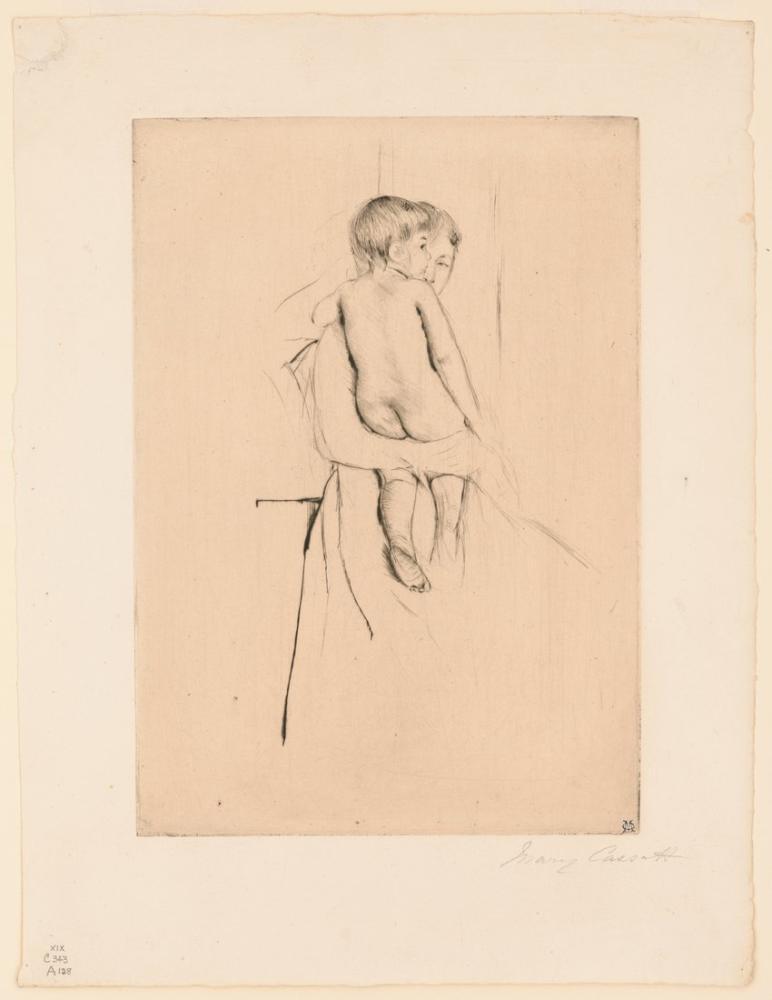 Mary Cassatt, Baby s Back, Canvas, Mary Cassatt, kanvas tablo, canvas print sales