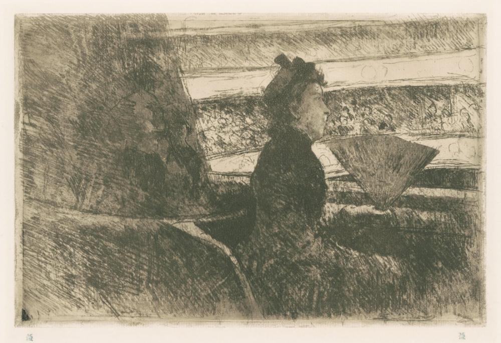 Mary Cassatt, Opera Kongre Kütüphanesi, Kanvas Tablo, Mary Cassatt, kanvas tablo, canvas print sales