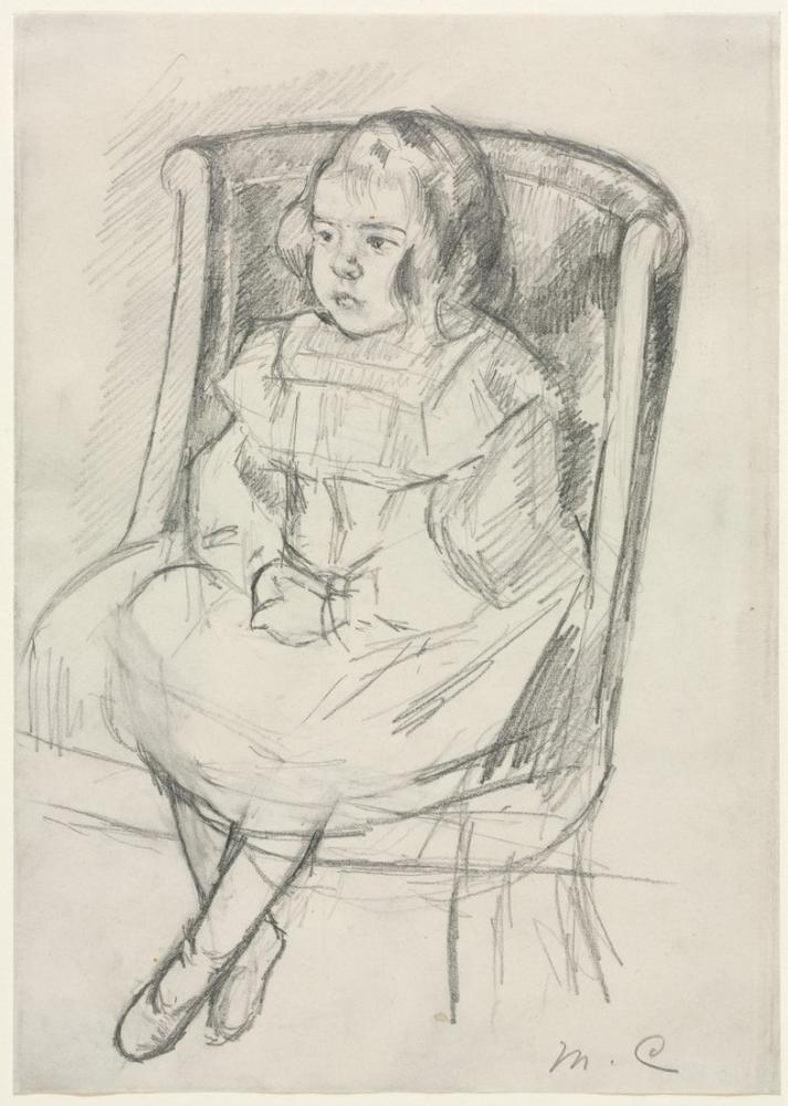 Mary Cassatt, Simone Seated, Canvas, Mary Cassatt, kanvas tablo, canvas print sales