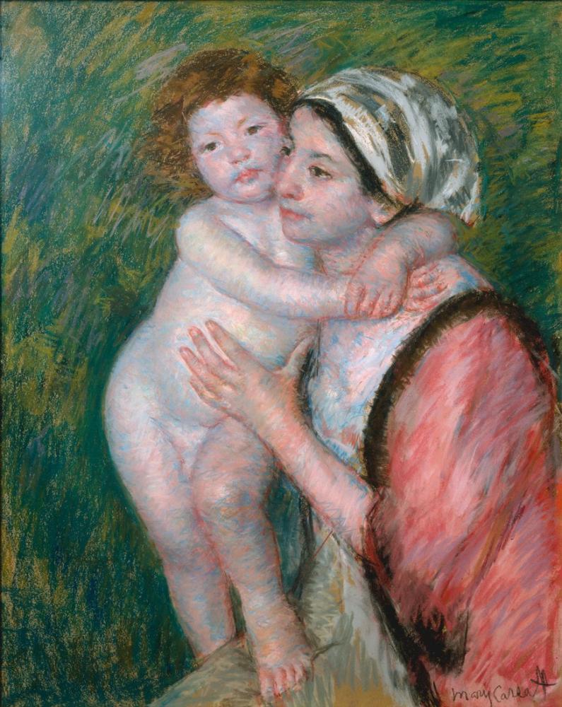 Mary Cassatt, Mother and Child, Canvas, Mary Cassatt, kanvas tablo, canvas print sales