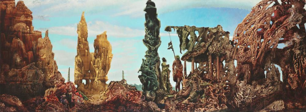 Max Ernts, Yağmurdan Sonra Avrupa, Kanvas Tablo, Max Ernst, kanvas tablo, canvas print sales