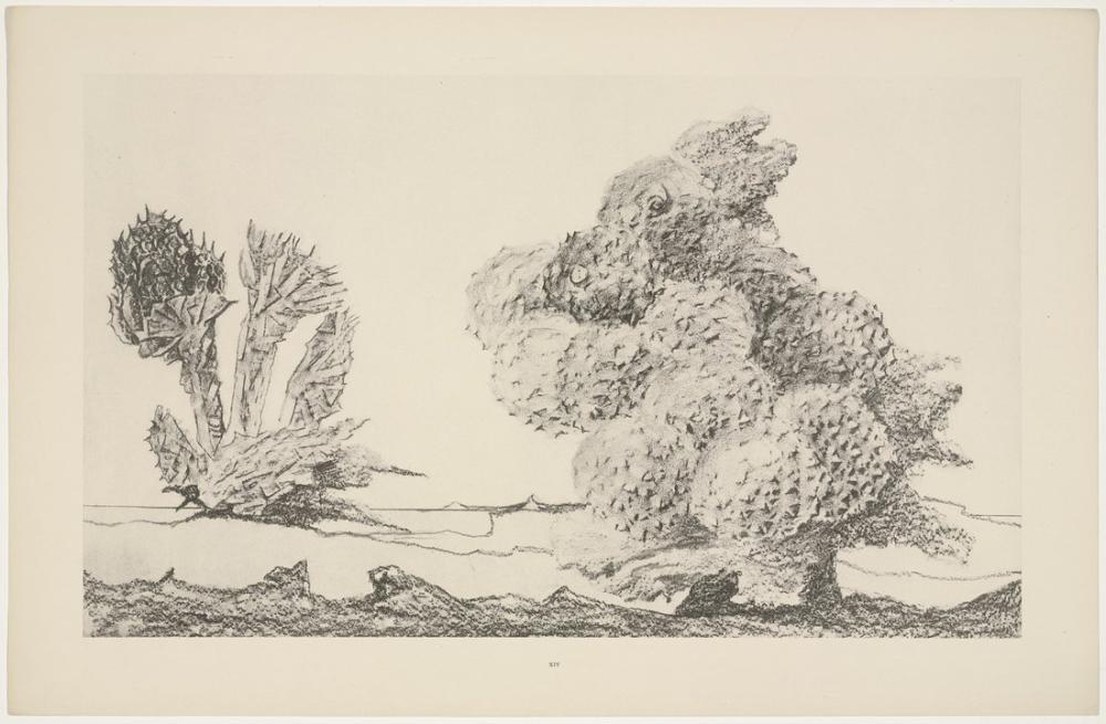 Max Ernst The Chestnut Trees, Canvas, Max Ernst, kanvas tablo, canvas print sales