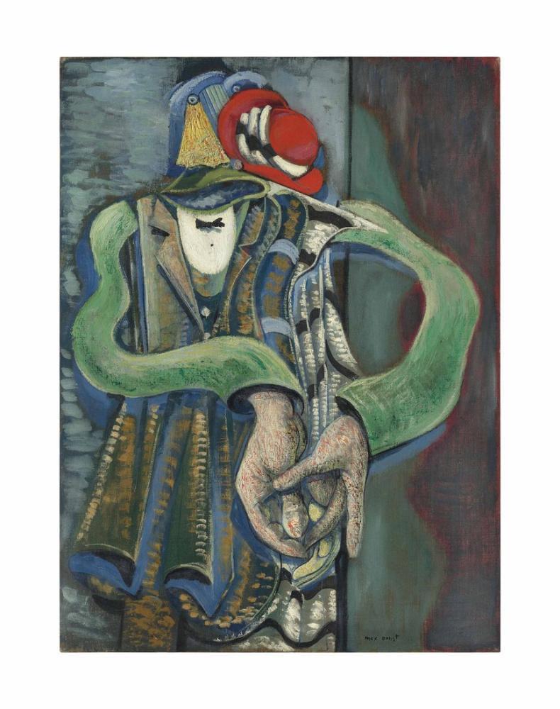 Max Ernst Çift, Figür, Max Ernst, kanvas tablo, canvas print sales