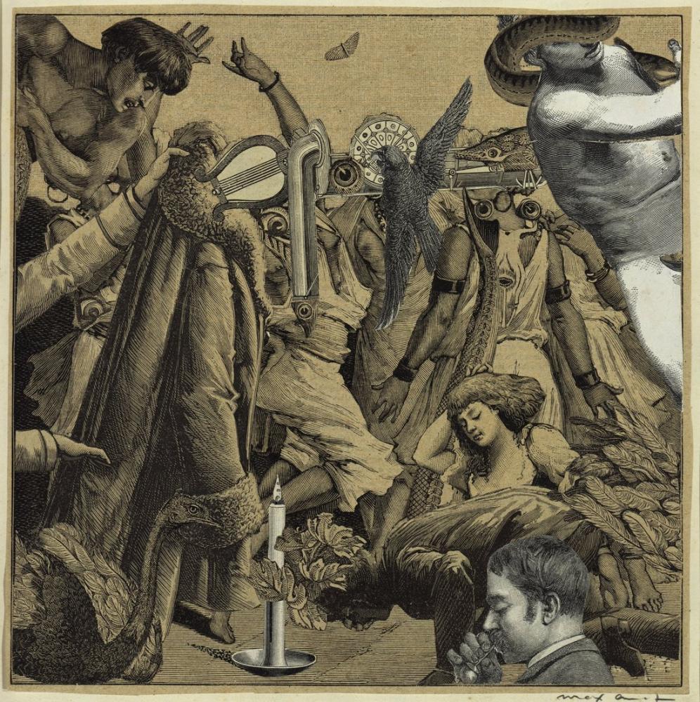 Max Ernst Resmin Ötesinde Deneysel Teknikler, Kanvas Tablo, Max Ernst, kanvas tablo, canvas print sales