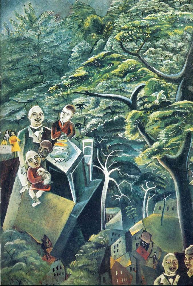 Max Ernst Ölümsüzlük, Kanvas Tablo, Max Ernst, kanvas tablo, canvas print sales