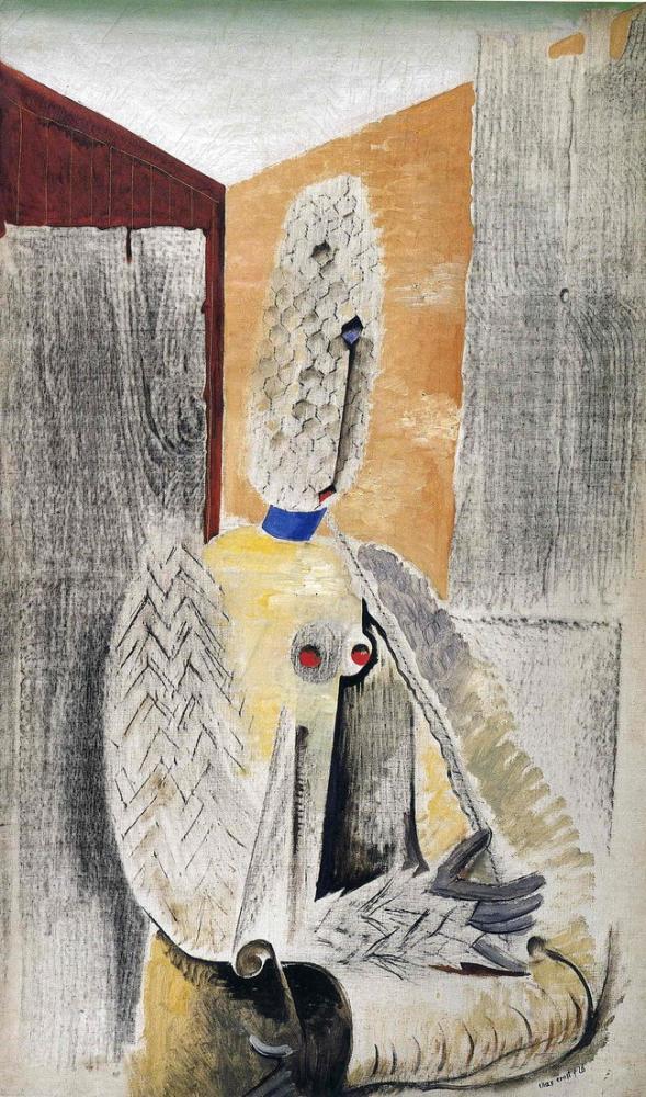 Max Ernst Young Nude, Figure, Max Ernst, kanvas tablo, canvas print sales
