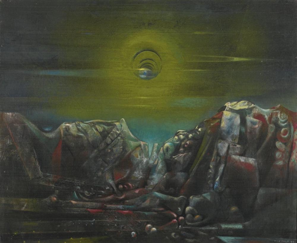 Max Ernst Ay II, Figür, Max Ernst, kanvas tablo, canvas print sales
