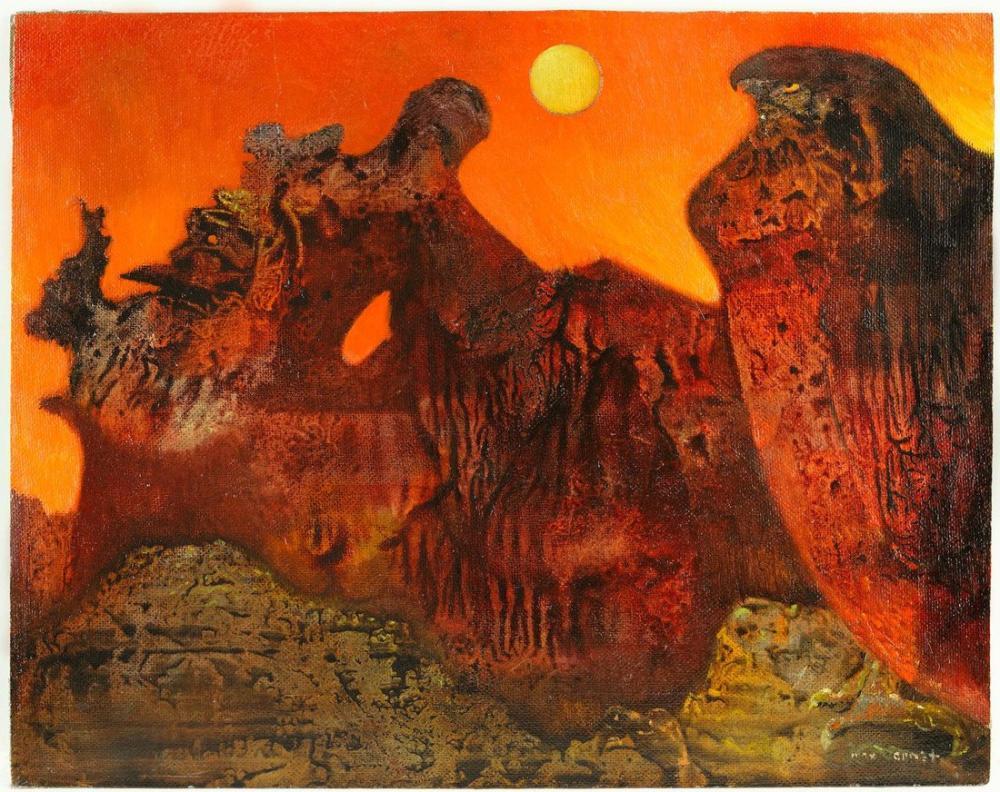 Max Ernst Sedona Landschaft, Canvas, Max Ernst, kanvas tablo, canvas print sales