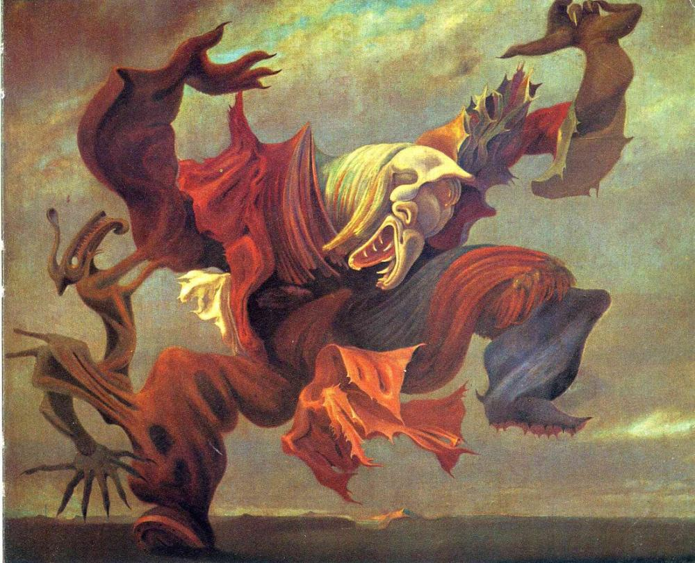 Max Ernst Evin Meleği Veya Sürrealizm Zaferi, Figür, Max Ernst, kanvas tablo, canvas print sales