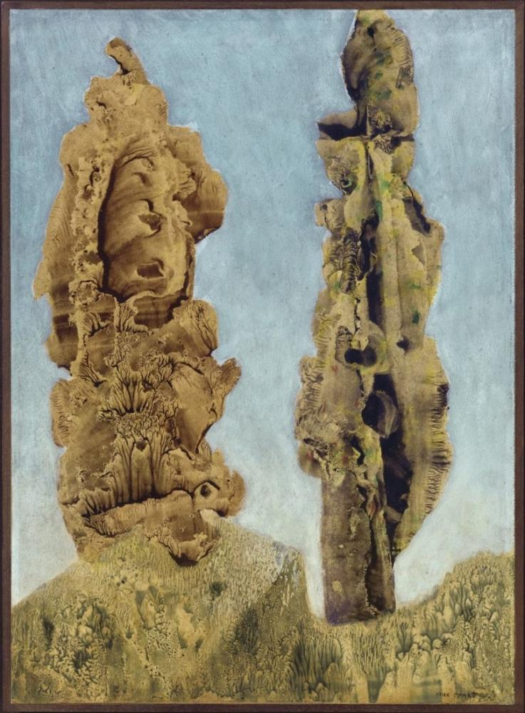 Max Ernst Les Peupliers, Canvas, Max Ernst, kanvas tablo, canvas print sales