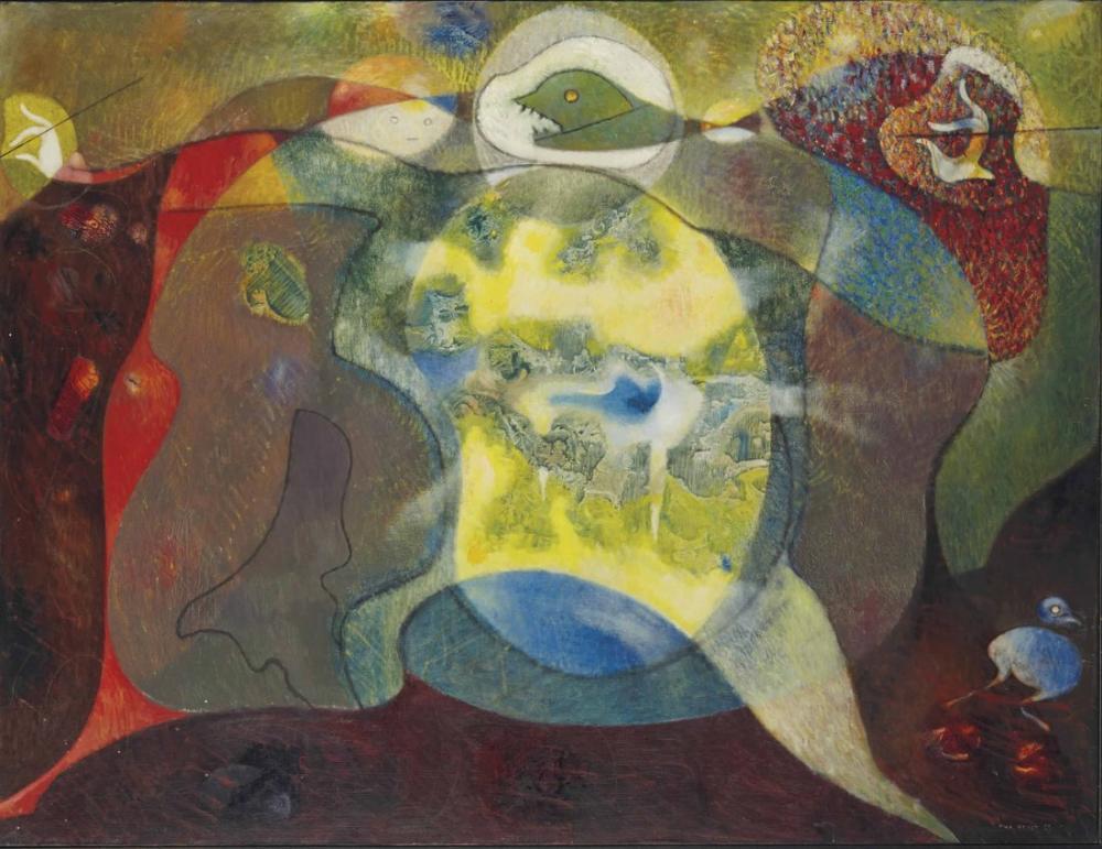 Max Ernst Bir Palet, Kanvas Tablo, Max Ernst, kanvas tablo, canvas print sales