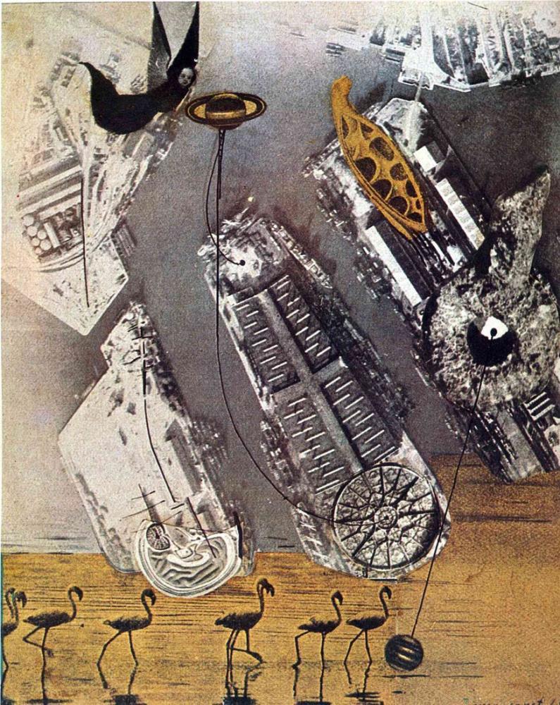 Max Ernst Karabataklar, Kanvas Tablo, Max Ernst, kanvas tablo, canvas print sales
