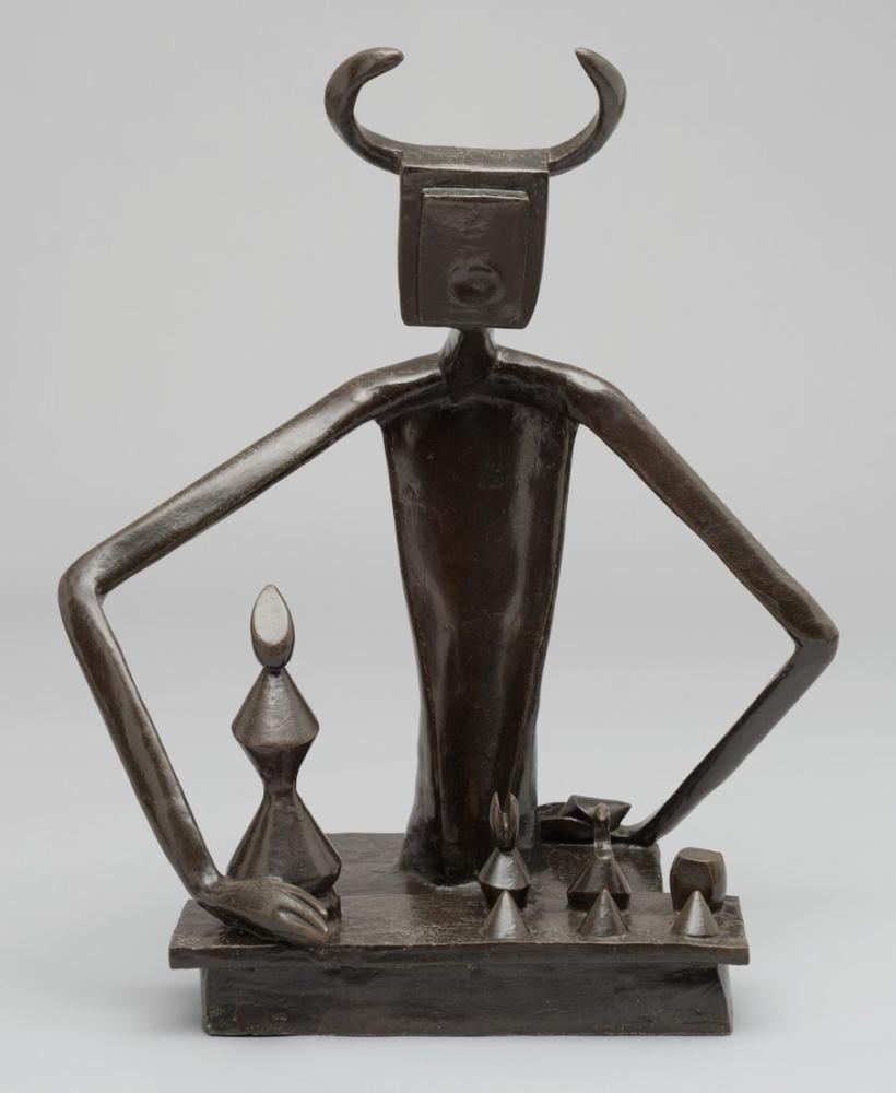 Max Ernst Kraliçe İle Oynayan Kral, Figür, Max Ernst, kanvas tablo, canvas print sales