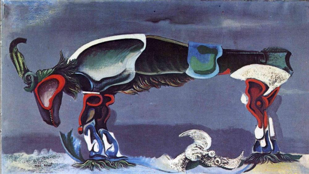 Max Ernst The Beautiful Season, Figure, Max Ernst, kanvas tablo, canvas print sales