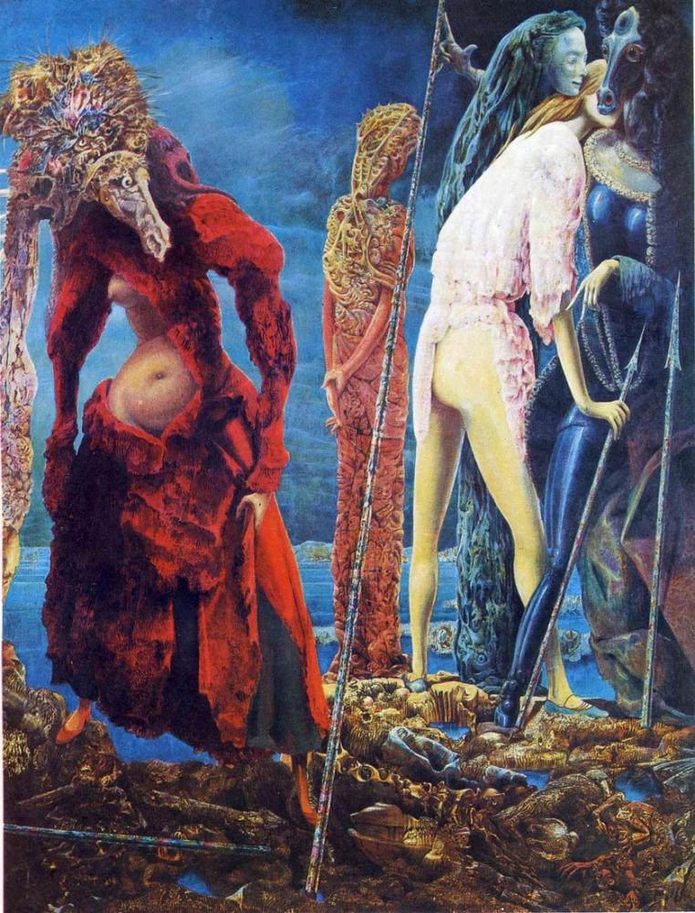 Max Ernst Antipop, Figür, Max Ernst, kanvas tablo, canvas print sales