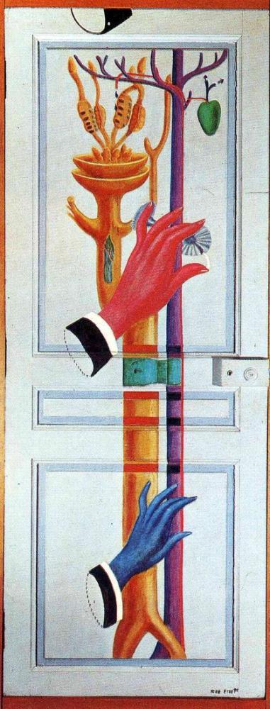 Max Ernst Enter Exit 1923, Canvas, Max Ernst, kanvas tablo, canvas print sales