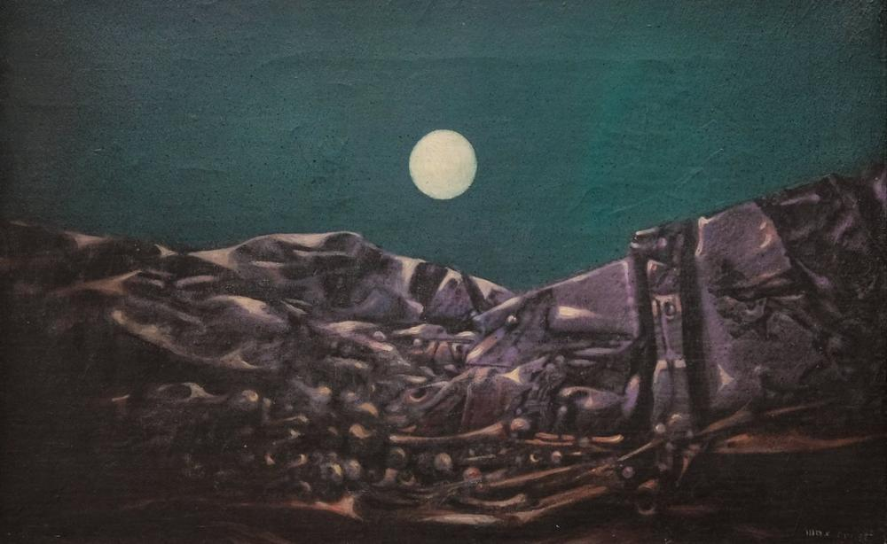 Max Ernst Summer Night In Arizona, Canvas, Max Ernst, kanvas tablo, canvas print sales