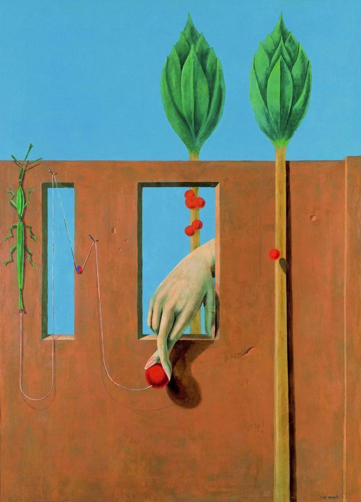 Max Ernst İlk Açık Sözde, Kanvas Tablo, Max Ernst, kanvas tablo, canvas print sales