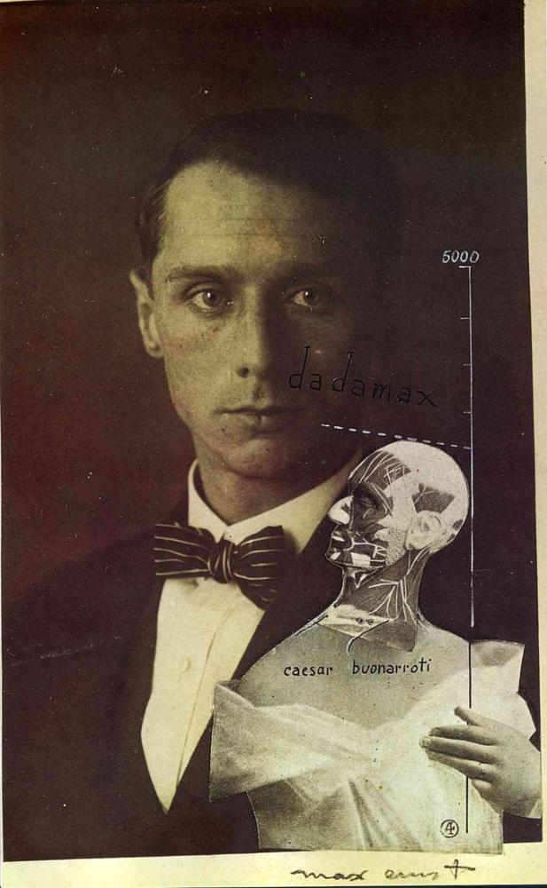 Max Ernst Punching Ball Or The Immortality Of Buonarroti, Canvas, Max Ernst, kanvas tablo, canvas print sales