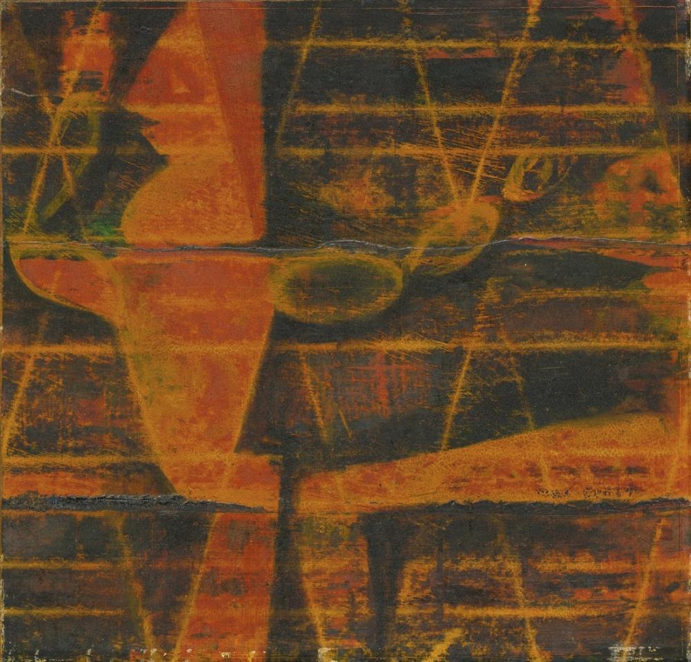 Max Ernst Bileşim II, Kanvas Tablo, Max Ernst, kanvas tablo, canvas print sales
