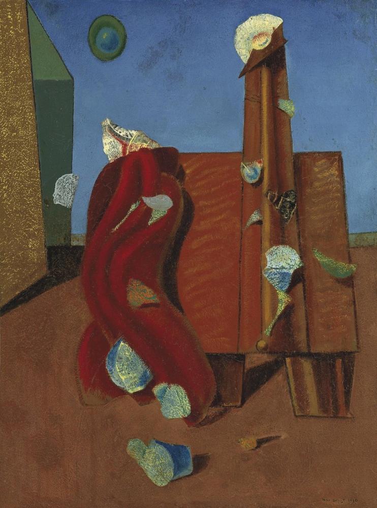 Max Ernst Boğa Güreşçisi, Kanvas Tablo, Max Ernst, kanvas tablo, canvas print sales