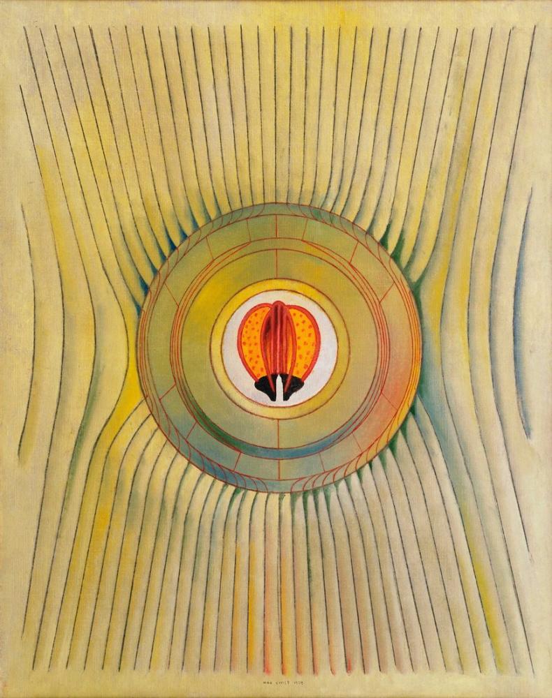 Max Ernst Kör Yüzücü, Kanvas Tablo, Max Ernst, kanvas tablo, canvas print sales