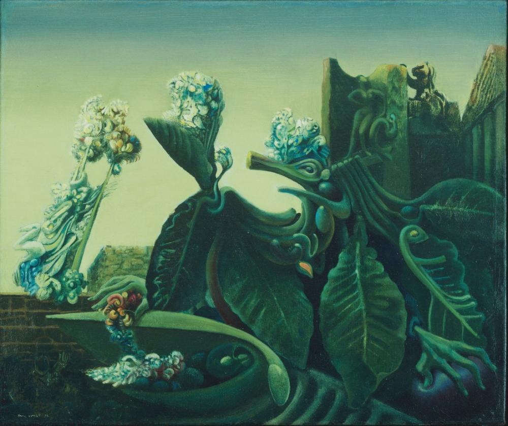 Max Ernst Su Perisi Yankı, Kanvas Tablo, Max Ernst, kanvas tablo, canvas print sales