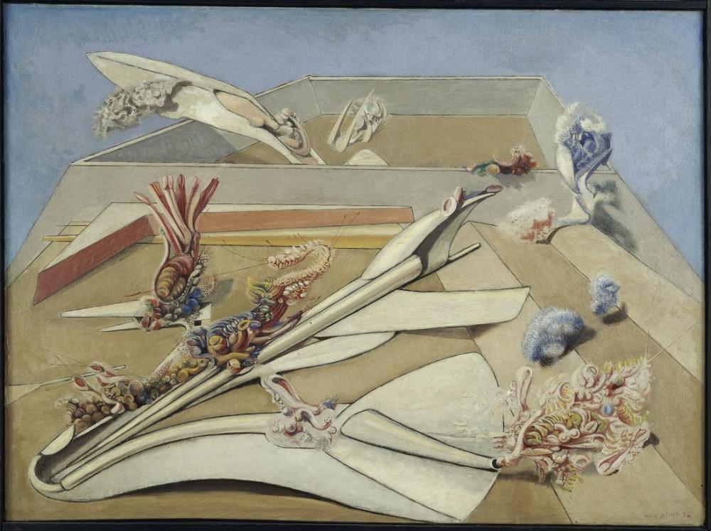 Max Ernst Bahçe Uçak Tuzağı, Kanvas Tablo, Max Ernst, kanvas tablo, canvas print sales