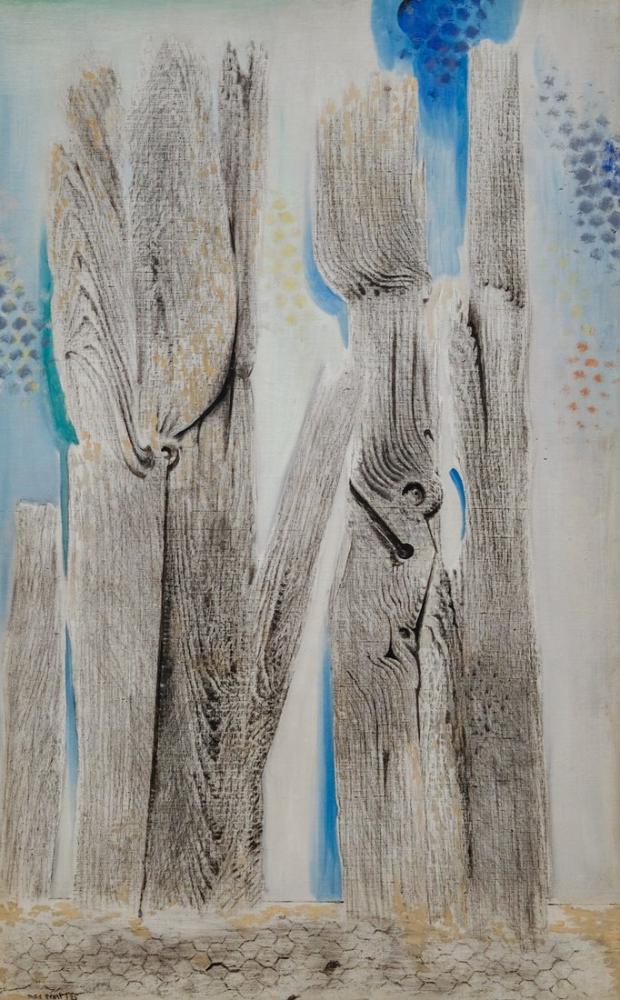 Max Ernst Mavi Orman, Kanvas Tablo, Max Ernst, kanvas tablo, canvas print sales